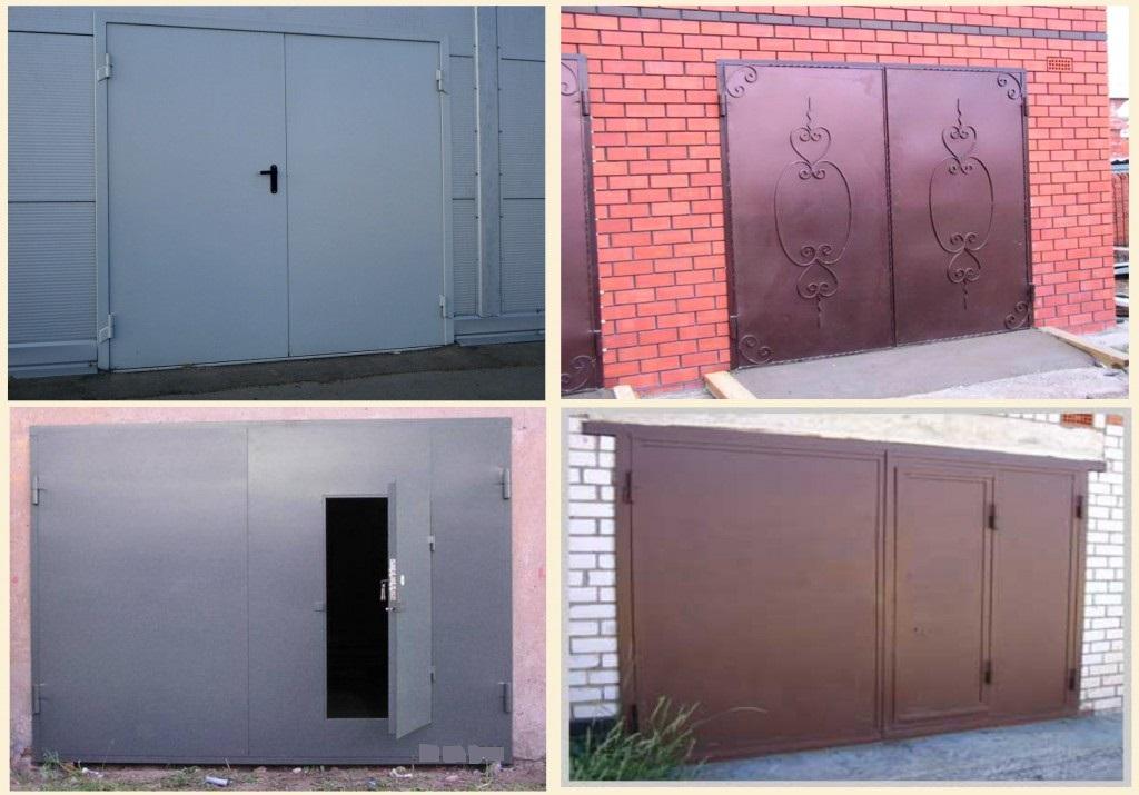 ворота гаражные распашные цена муром